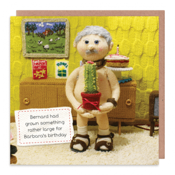 Nudinits 'Rather Large' Greeting Card