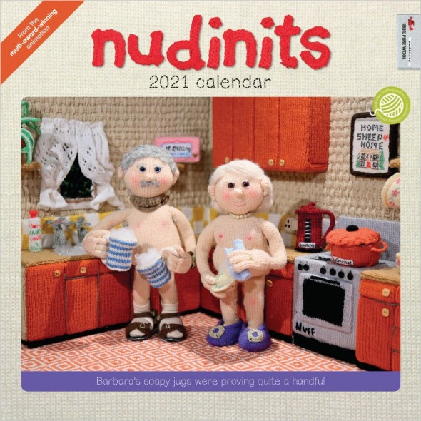 Nudinits 2021 Wall Calendar - Cover