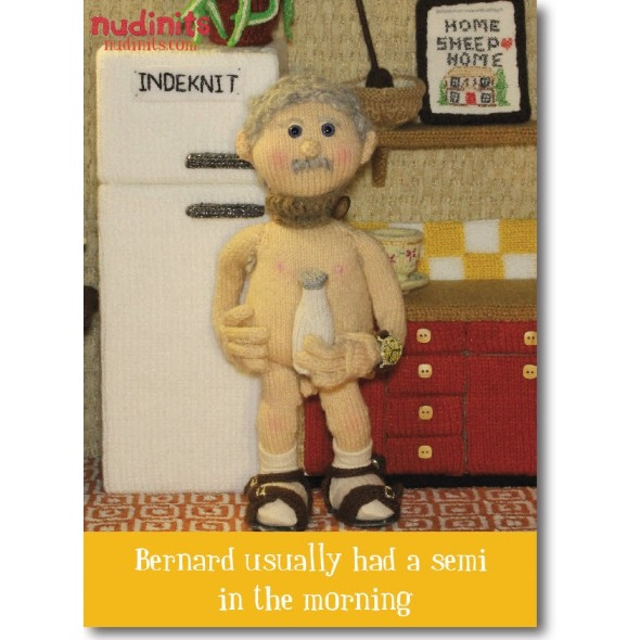 Nudinits 'Semi' Fridge Magnet