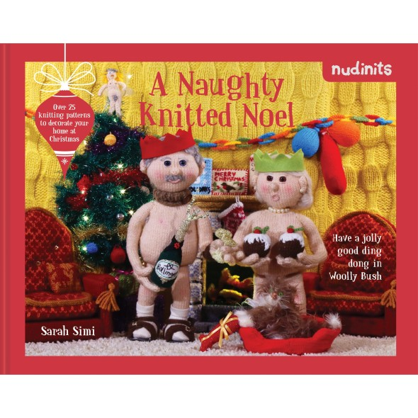 Nudinits - A Naughty Knitted Noel - Cover