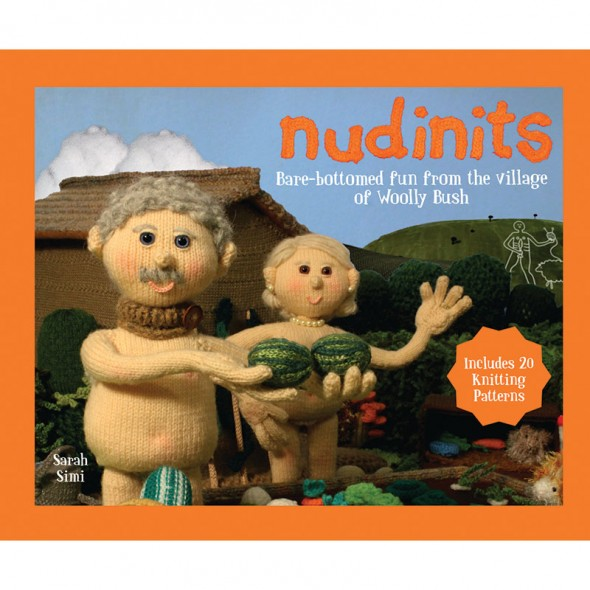 Nudinits - Bare-bottomed fun from the village of Woolly Bush - Cover