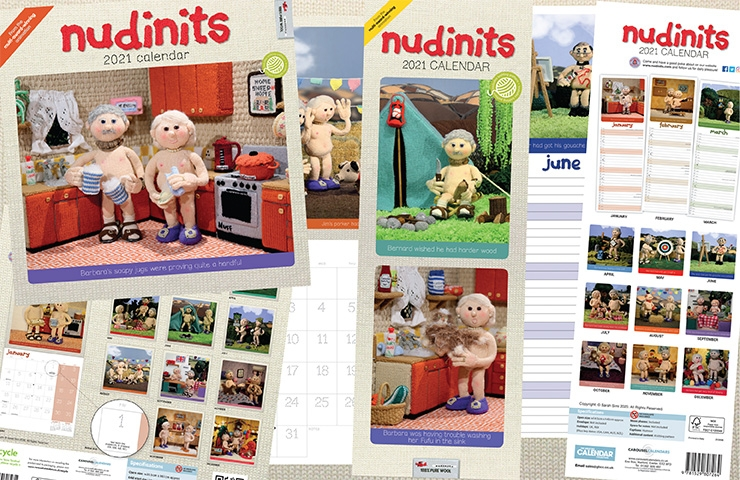 2021 Calendars now out